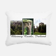 Blarney Castle, 3 vert. photos Rectangular Canvas