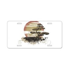 Bonsai Aluminum License Plate