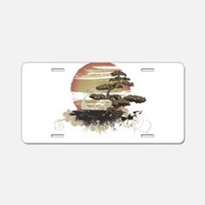 Bonsai Aluminum License Plate