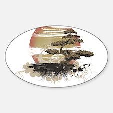 Bonsai Sticker (Oval 10 pk)