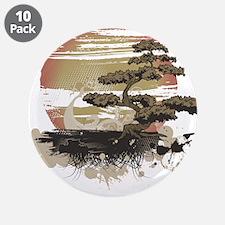 """Bonsai 3.5"""" Button (10 pack)"""