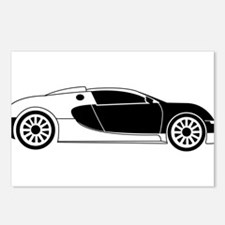 Sports Car Postcards (Package of 8)