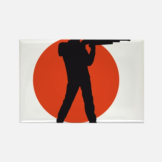 shooting sports Rectangle Magnet