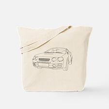 Car Outline Tote Bag