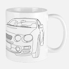 Car Outline Mug