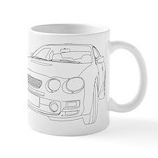 Car Outline Mug