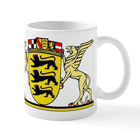 landeswappen badenw252rttemberg mug by heimatwappen