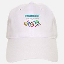 pharmacist counts happy pills.PNG Baseball Baseball Cap