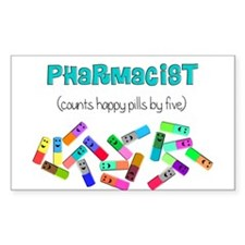 pharmacist counts happy pills.PNG Decal