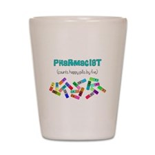 pharmacist counts happy pills.PNG Shot Glass