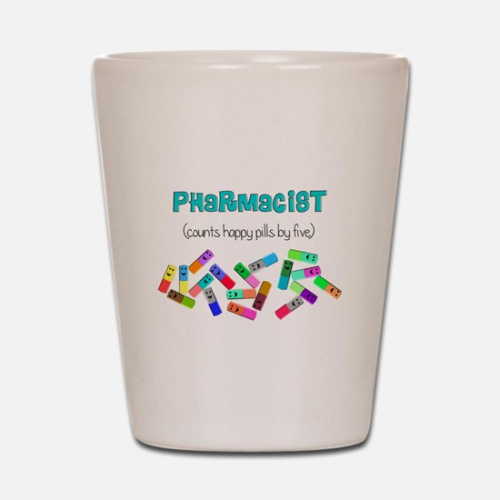 pharmacist counts happy pills.PNG Shot Glass