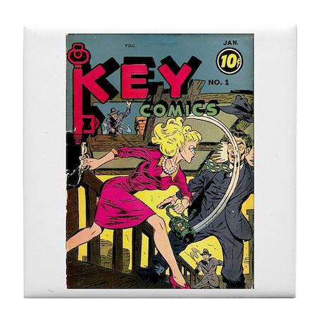 Key Comics #1 Tile Coaster