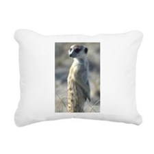 Meerkat Rectangular Canvas Pillow