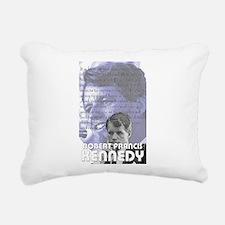 Bobby Kennedy Rectangular Canvas Pillow