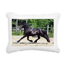 """Friesian 5"" Rectangular Canvas Pillow"