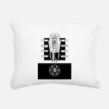 Vacuum Tube Rectangular Canvas Pillow