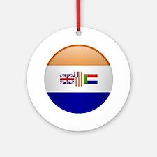SA republic button Ornament (Round)