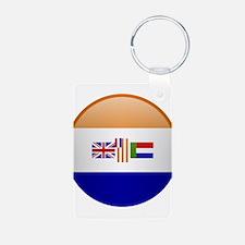 SA republic button Keychains