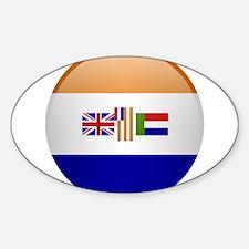 SA republic button Decal