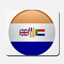 SA republic button Mousepad