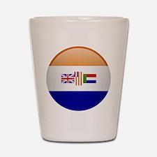 SA republic button Shot Glass