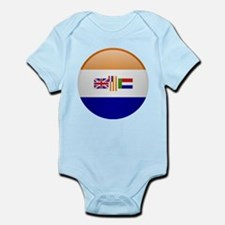 SA republic button Infant Bodysuit