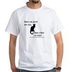 CVAS Black Cats (White) T-Shirt