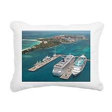 Cruise Ships - Rectangular Canvas Pillow