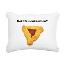 Got Hamentaschen? Rectangular Canvas Pillow