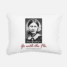 Go with Florence Nightingale! Rectangular Canvas P