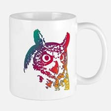 Colorful Owl Mug