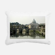 Vatican City Rectangular Canvas Pillow