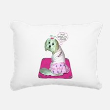 Angel Princess Rectangular Canvas Pillow