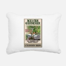 Master Gardener seed packet Rectangular Canvas Pil