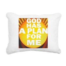 At Birth- there was a PLAN. Rectangular Canvas Pil