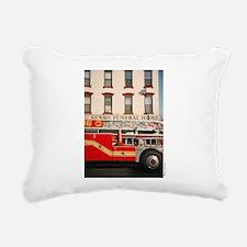 """""""Funeral Home"""" Rectangular Canvas Pillow"""