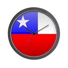 Chile Button Wall Clock