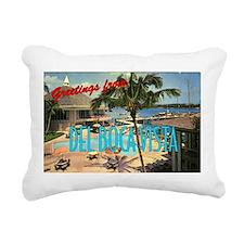 """""""Del Boca Vista"""" Rectangular Canvas Pillow"""