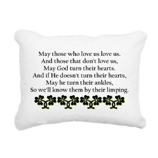 Irish Blessing? Rectangular Canvas Pillow
