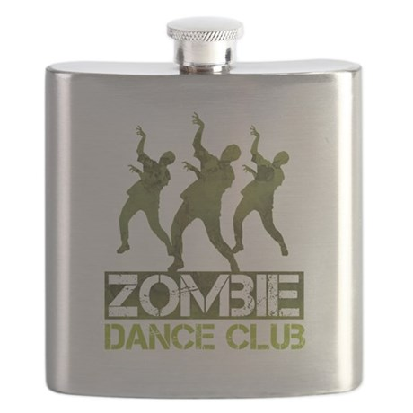 Zombie Dance Club Flask