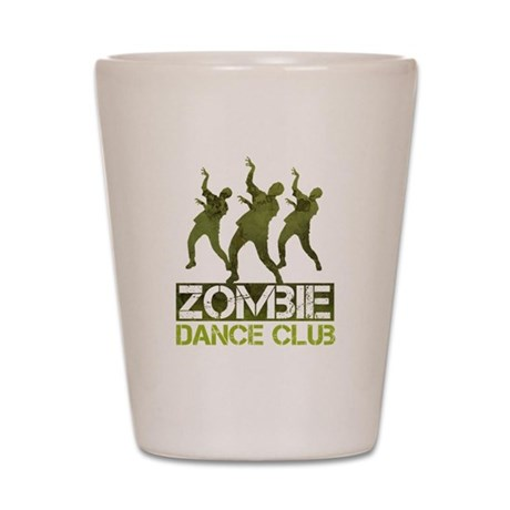 Zombie Dance Club Shot Glass