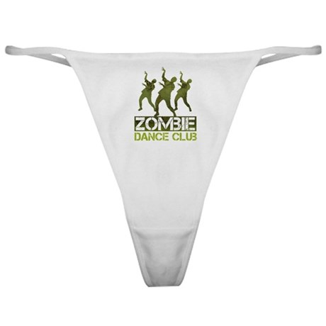 Zombie Dance Club Classic Thong