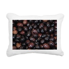 Olives in Paris Rectangular Canvas Pillow
