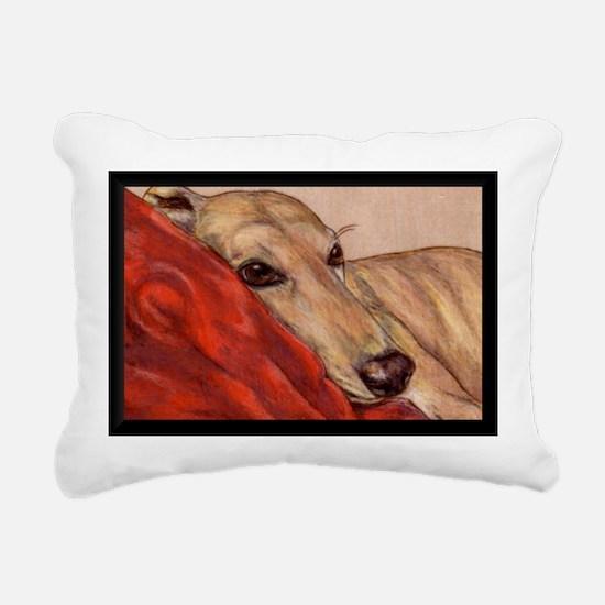 Just Restin' Rectangular Canvas Pillow