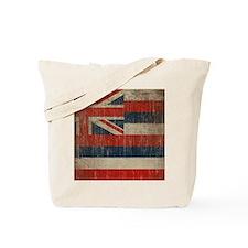 Vintage Hawaii Flag Tote Bag