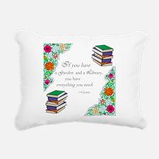 Cicero quote Rectangular Canvas Pillow