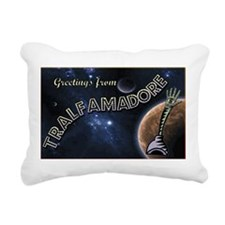 Greetings From... Rectangular Canvas Pillow
