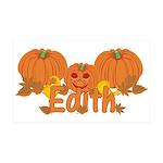 Halloween Pumpkin Edith 35x21 Wall Decal
