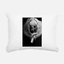 Ballet Rectangular Canvas Pillow