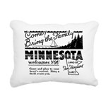 Vintage MINNESOTA Rectangular Canvas Pillow